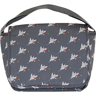 Blue Avocado Kids Cooper Lunch Bag, Shark Attack