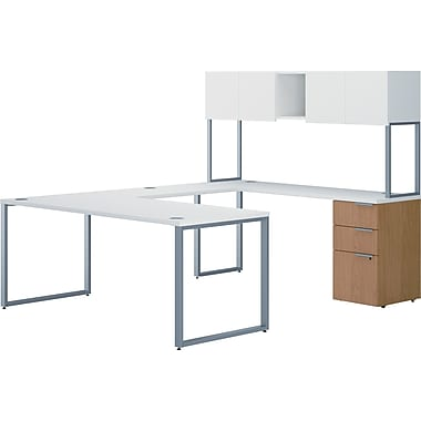HON Voi Mixed Material U-Shaped Office Desk