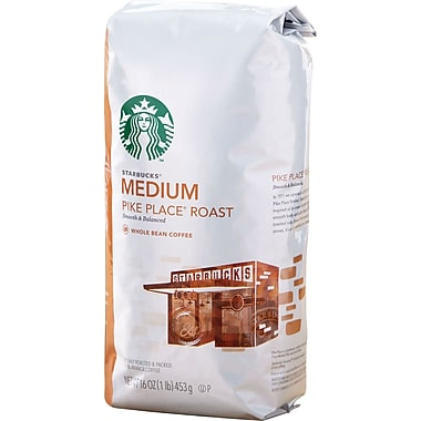 Starbucks® Pike Place Ground Coffee, Regular, 1 lb. Bag
