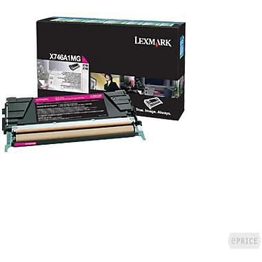 Lexmark X746 Magenta Return Program Toner Cartridge X746A1MG
