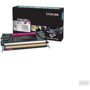 Lexmark Magenta Toner Cartridge (X746A1MG), Return Program