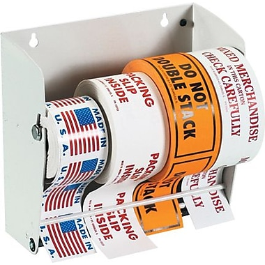 4 1/2in. Tape Logic Wall Mount Label Dispenser, 1 Each