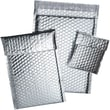 """Staples® Cool Shield Bubble Mailers, Silver, 6-3/8"""" x 10-3/8"""", 100/Case"""