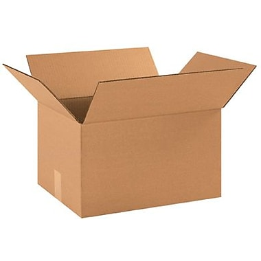 16in.(L) x 12in.(W) x 9in.(H) - Staples Corrugated Shipping Box, 25/Bundle