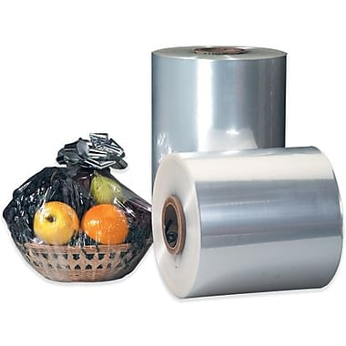 Staples 30in. x 60 Gauge x 4375' Polyolefin Shrink Film, 1 Roll