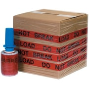 "5"" x 80 Gauge x 500' ""DO NOT TOP LOAD"" Goodwrappers® Identi-Wrap, 6/Pack"