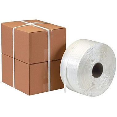 1/2in. x 3900' - Staples Poly Cord Strapping, 1 Coil