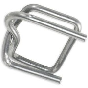 "1/2"" - Staples Wire Poly Strapping Buckles, 1000/Case"