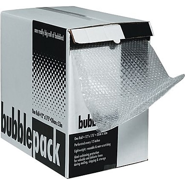 1/2in. x 48in. x 80' - Staples Bubble Dispenser Pack