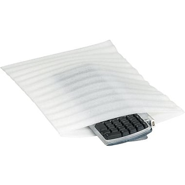 3in. x 10in. - Staples Flush Cut Foam Pouch, 500/Case