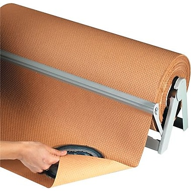 Staples Indented Kraft Paper Roll, 60-lb., 24in. x 300'