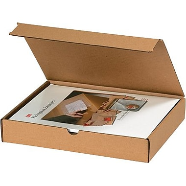 11 1/8in. x 8 3/4in. x 6in. - Staples Kraft Literature Mailer