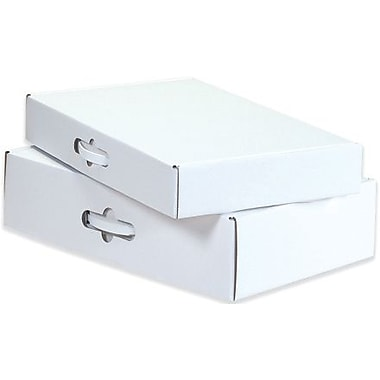 12 1/8in. x 9 1/4in. x 3in. - Staples Corrugated Carrying Cases