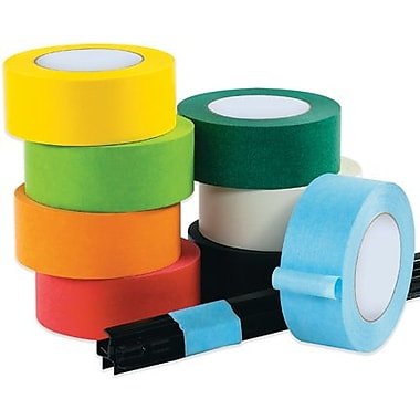 Intertape Industrial Masking Tape, Black, 3/4in. x 60 yds., 48 Rolls