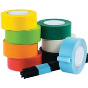 Intertape Industrial Masking Tape, Black, 3/4 x 60 yds., 48/Case