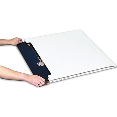 Staples White Jumbo Fold-Over Mailers