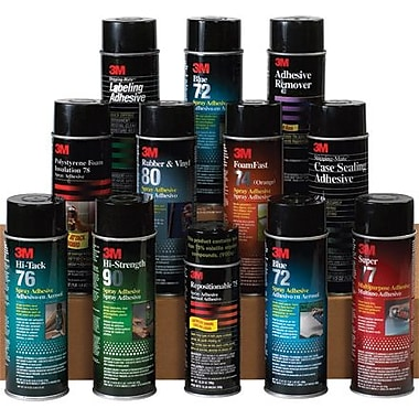 3M - Pressure Sensitive 72 Spray Adhesive, 12/Case