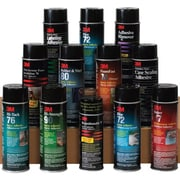 3M™ Multi-Purpose 27 Spray Adhesive, Clear, 12/Case