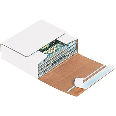 5 3/4in. x 5 1/16in. x 1 3/4in. - Staples Self-Seal CD Mailers, 200/Bundle