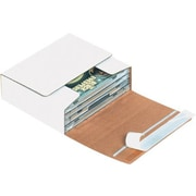"05 3/4""x5 1/16""x1 3/4"" Partners Brand Self-Seal CD Mailers, 200/Bundle (MM1002)"