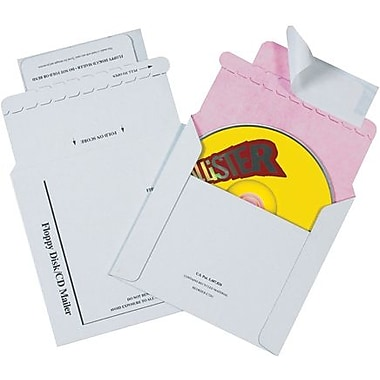 5 1/8in. x 5in. Tyvek® Lined CD Mailers, 100/Case