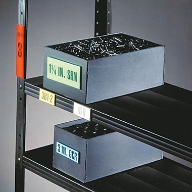 HOL-DEX® Self-Adhesive Plastic Label Holders