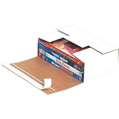 7 11/16in. x 5 7/16in. x 2 7/16in. - Staples Self-Seal DVD Mailers, 200/Bundle