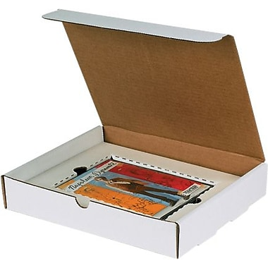 11 1/8in. x 8 3/4in. x 2in. - Staples DVD Literature Mailer Kit