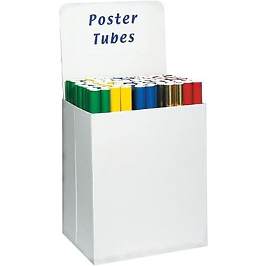 Staples Large Bin Floor Display Header Cards, 10/Bundle