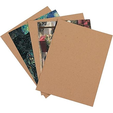 12in. x 12in. - Staples Heavy-Duty Chipboard Pad, 490/Case