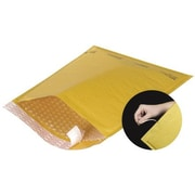 "Staples® Self-Seal #4 Bubble Mailers, Easy-Open Tear-Tab, Kraft, 9-3/8"" x 13-1/4"", 70/Case"