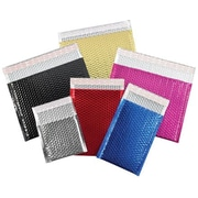 Staples 13 x 17 1/2 Silver Glamour Bubble Mailer, 100/Case