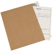 Staples 8 1/2 x 11 Kraft Utility Flat Mailer, 250/Case