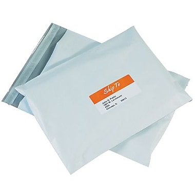 Staples 12in. x 15 1/2in. Poly Mailer, 50/Case