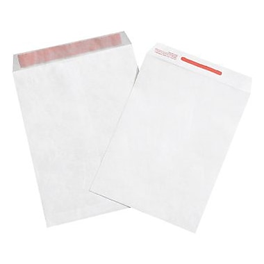 Staples 10in. x 13in. Tamper Evident Tyvek® Envelope, 100/Case