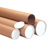 5 x 60 - Staples Kraft Jumbo Mailing Tube, 15/Case