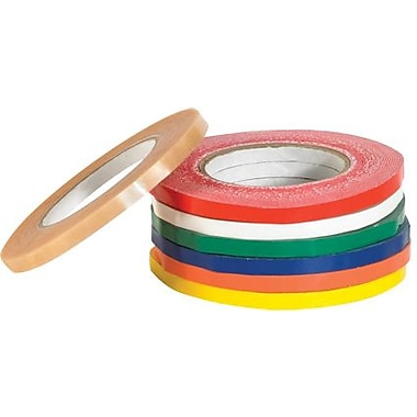 Tape Logic 3/8in. x 180 yds. Red Bag Tape, 16/Case