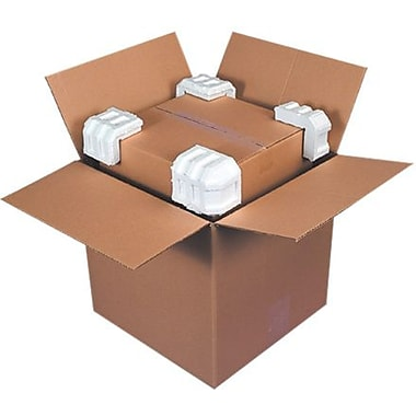 3 3/4in. x 3 3/4in. x 3 3/4in. - Staples Foam Corners, 400/Case