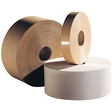 Intertape White Convoy Medium Paper Tape, 2 1/2in. x 600', 12/Case