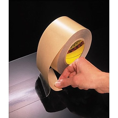 3M 465 Adhesive Transfer Tape- Hand Rolls, 3/4in. x 60 yds., 6/Pack
