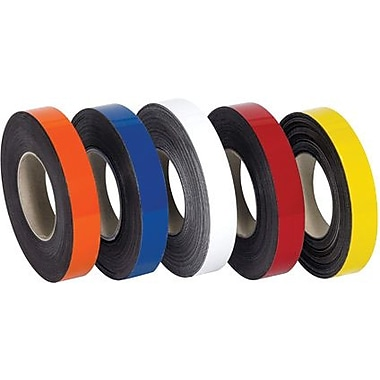 Staples Orange Warehouse Labels - Magnetic Rolls