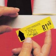 "Slip-Strip 3"" x 48"" Simple Peel-N-Stick Self Adhesive Label Strips, White (LH165)"