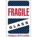 Tape Logic Fragile - Glass - Handle With Care Shipping Label, 4in. x 6in.