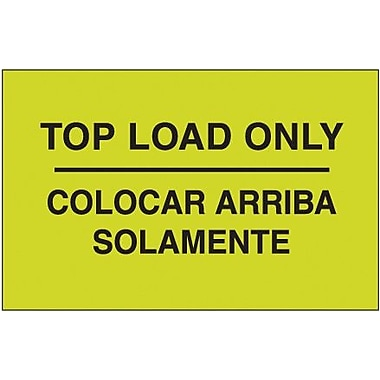 Tape Logic Top Load Only Shipping Label Bilingual, 3in. x 5in.