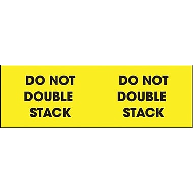 Tape Logic Do Not Double Stack Shipping Label, 3in. x 10in.
