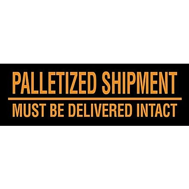Tape Logic Must Be Delivered Intact Shipping Label, 3in. x 10in., 500/Roll