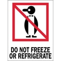 Tape Logic Do Not Freeze or Refrigerate Shipping Label, 3in. x 4in.
