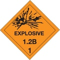 Tape Logic Explosive - 1.2B - 1in. Tape Logic Shipping Label, 4in. x 4in.