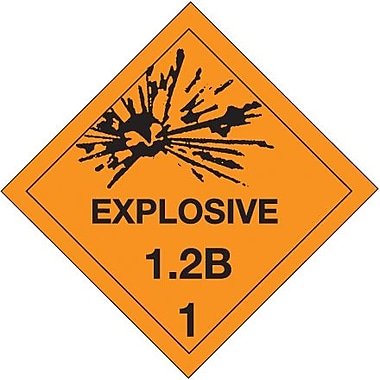 Tape Logic Explosive - 1.2B - 1in. Tape Logic Shipping Label, 4in. x 4in., 500/Roll