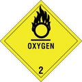 Tape Logic Oxygen - 2in. Tape Logic Shipping Label, 4in. x 4in.